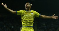 Lewis McGugan: Celebrates scoring Sheffield Wednesday's winner at Newcastle