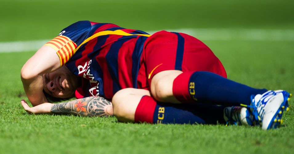 Lionel Messi: Barcelona star facing up to two months out injured