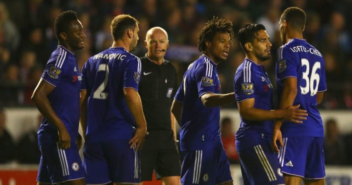 Chelsea: Celebrate Loic Remy's goal in Capital One Cup win at Walsall