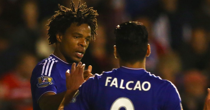 Loic Remy and Radamel Falcao: Competing for Chelsea place in Diego Costa's absence