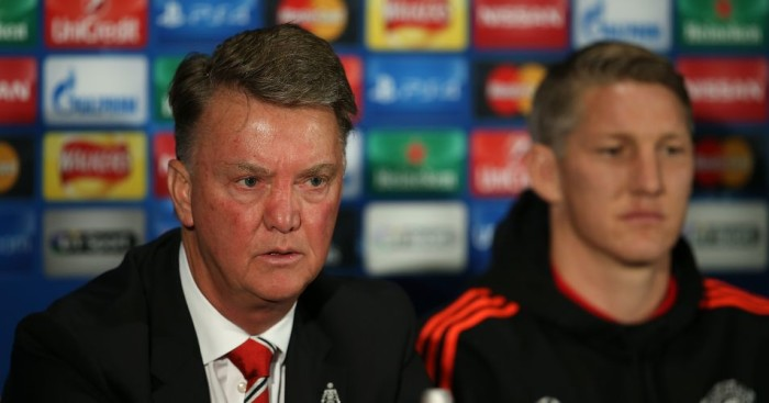 Louis van Gaal: Manchester United boss hints he could make changes against Wolfsburg
