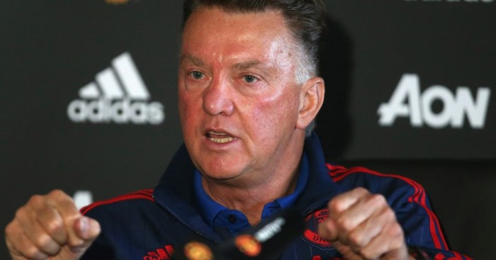 Louis van Gaal Manchester United TEAMtalk