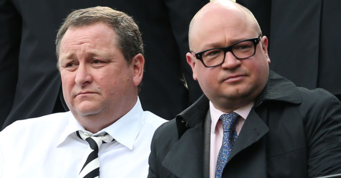 Mike Ashley Lee Charnley Newcastle TEAMtalk