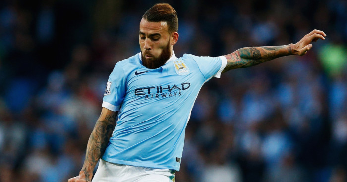 Nicolas Otamendi: Manchester City defender hopes to face Manchester United
