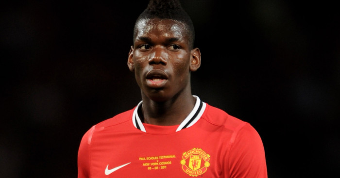 Paul Pogba: Left Manchester United in 2012