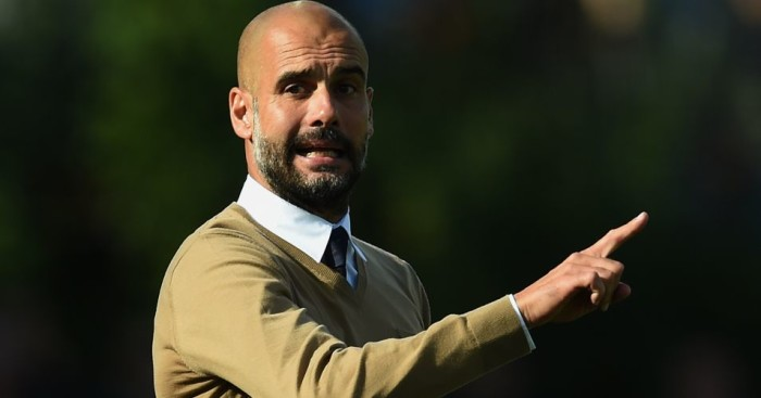 Pep Guardiola: Could lock horns with his former boss