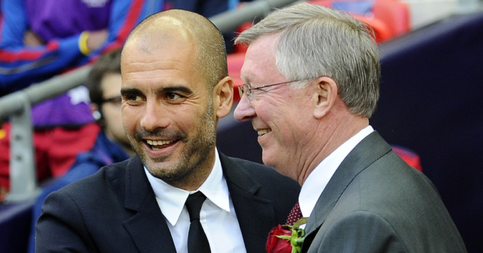 Pep Guardiola: Sir Alex Ferguson's favoured successor at Manchester United