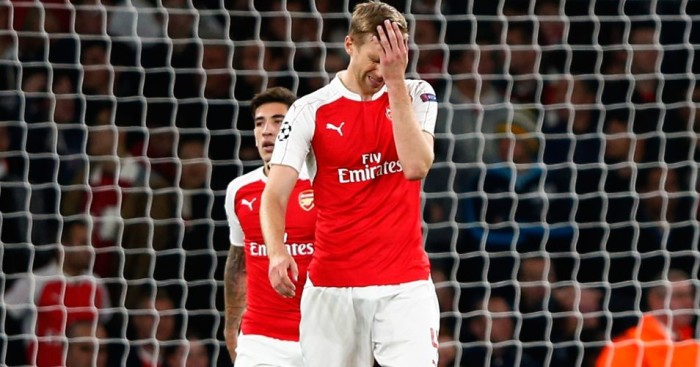Per Mertesacker: Ready for Arsenal's double header against Bayern Munich