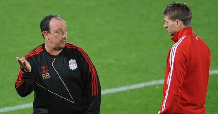 Steven Gerrard: Sad to see Rafa Benitez sacked by Real Madrid
