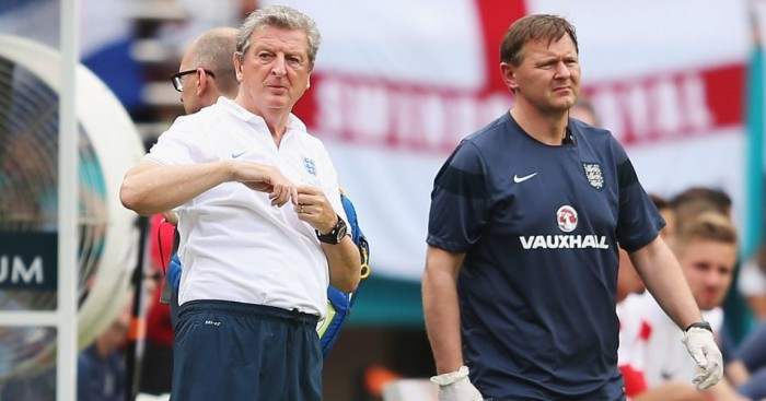Gary Lewin (right): England job apparently under threat
