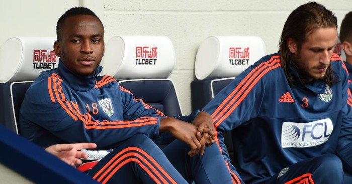Saido Berahino: Could be recalled to West Brom's starting line-up