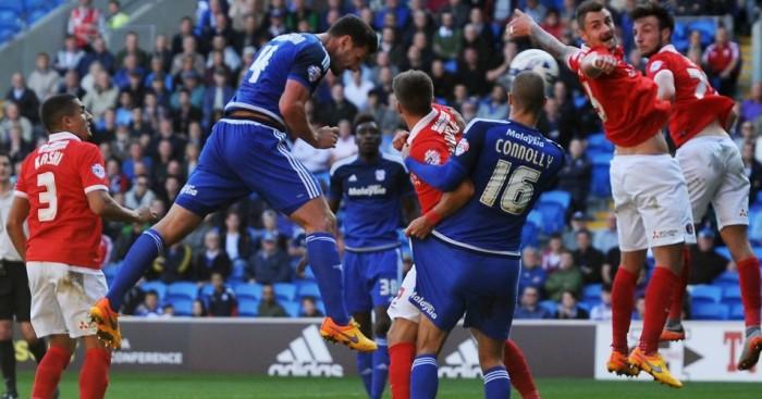 Sean Morrison scores Cardiff v Charlton TEAMtalk