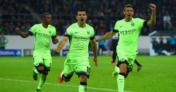 Sergio Aguero: Scored Manchester City's winner at Borussia Monchengladbach