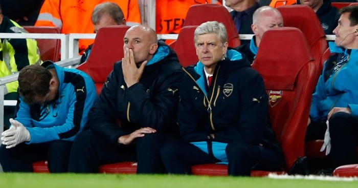 Arsene Wenger: Not a good night for Arsenal manager against Olympiacos