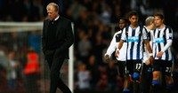 Steve McClaren: Newcastle boss looking dejected after defeat at West Ham