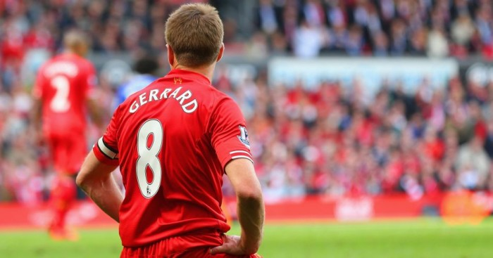 Steven Gerrard: Will pull on his iconic Liverpool shirt again