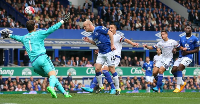 Steven Naismith: Scores Everton's opener against Chelsea