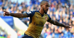 Theo Walcott: Criticised by Chris Waddle