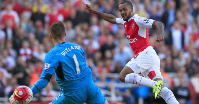 Theo Walcott: Earns Arsenal victory