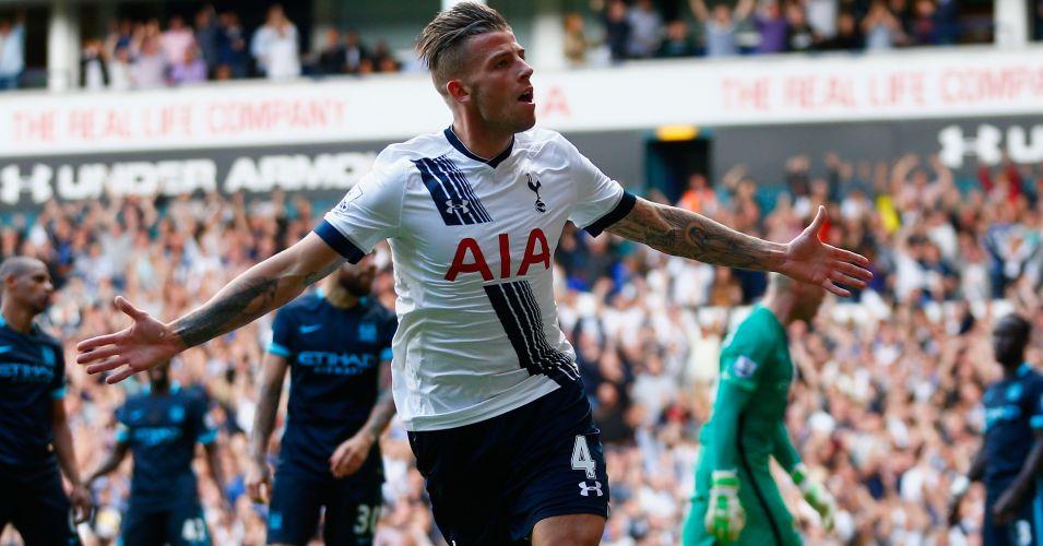 Toby Alderweireld Tottenham v Manchester City TEAMtalk