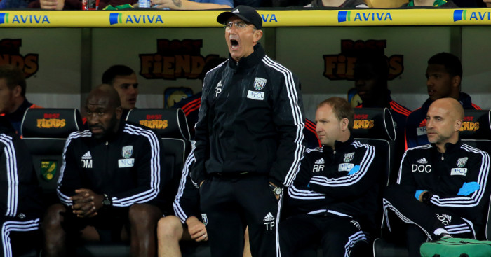 Tony Pulis: West Brom boss thought 3-0 defeat was harsh