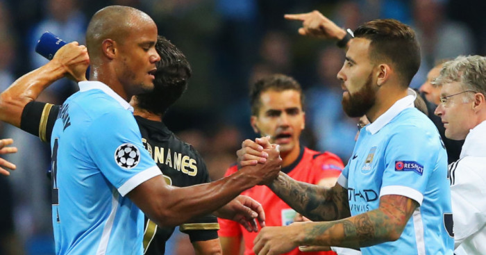 Vincent Kompany: Was replaced by Nicolas Otamendi against Juventus
