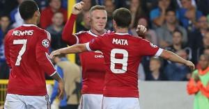 Wayne Rooney Juan Mata Manchester United TEAMtalk 1