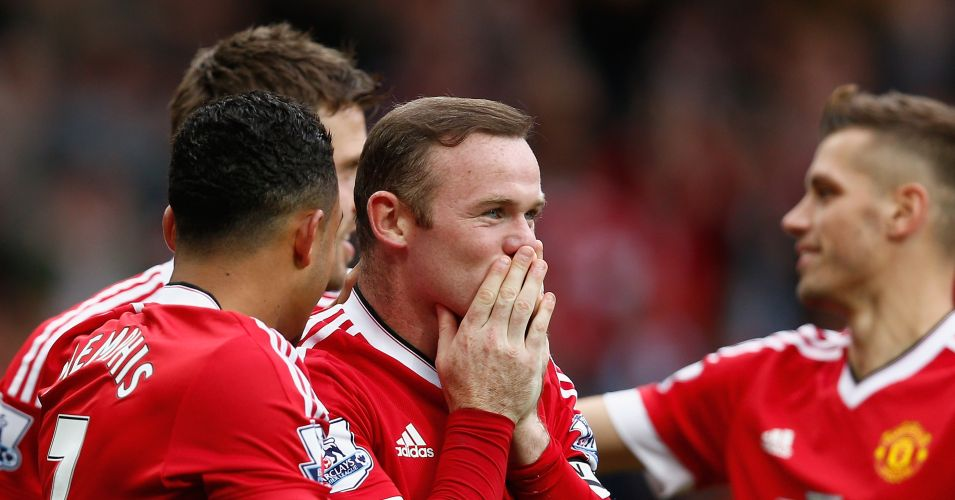 Wayne Rooney: Celebrates scoring for Manchester United against Sunderland