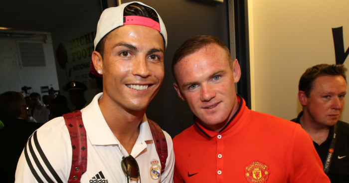 Wayne Rooney: Unselfish work benefited Cristiano Ronaldo at Manchester United