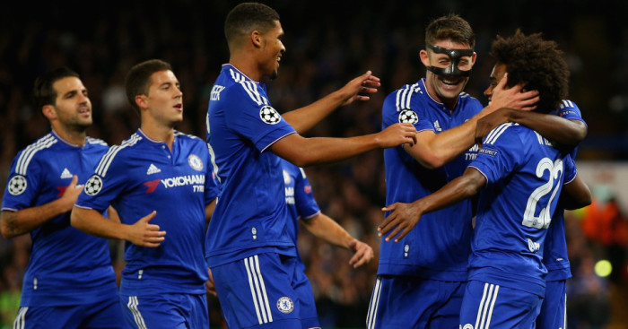 Willian: Scored but was injured in Chelsea's win over Maccabi