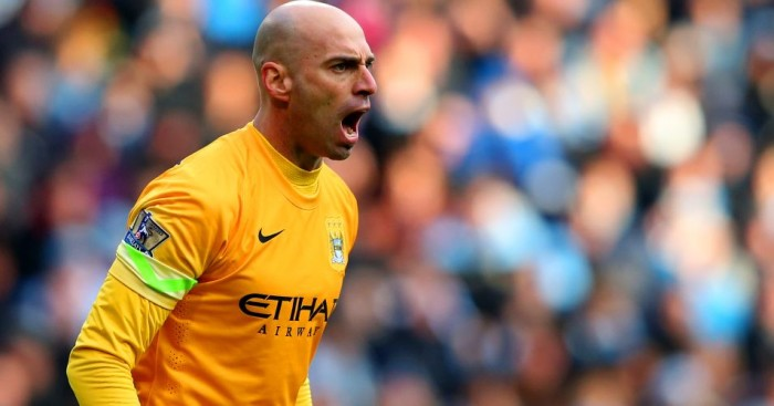 Willy Caballero Manchester City TEAMtalk
