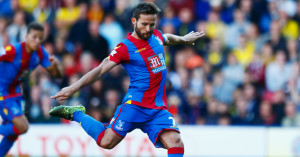 Yohan Cabaye: Strikes home his penalty