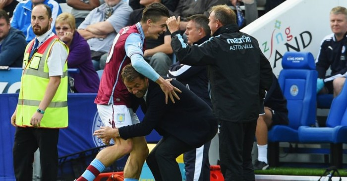 Jack Grealish: Has been implored to concentrate on progression at club level by Tim Sherwood