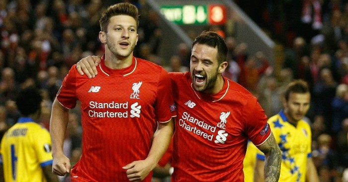 Adam Lallana and Danny Ings: Hoping to lift Liverpool to derby success