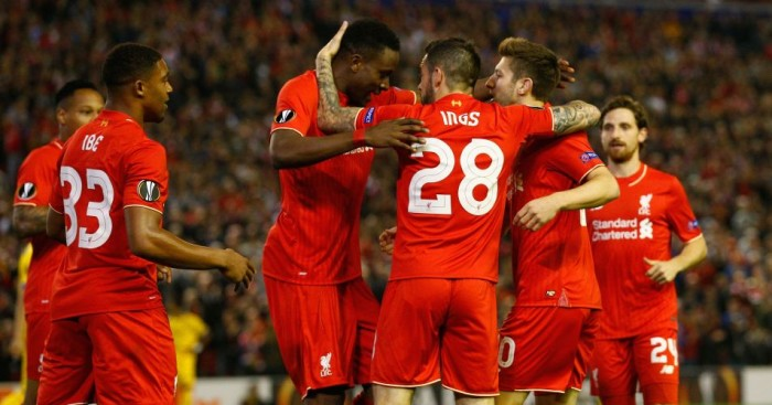 Liverpool: Celebrate Adam Lallana's early opener against FC Sion
