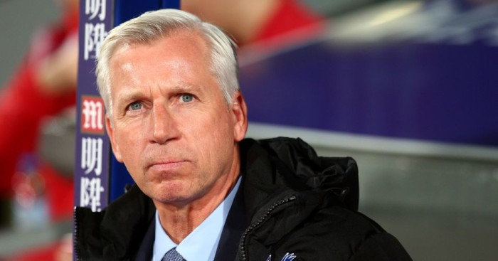 Alan Pardew: Focused on West Brom match