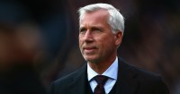 Alan Pardew: Happy with point at Everton