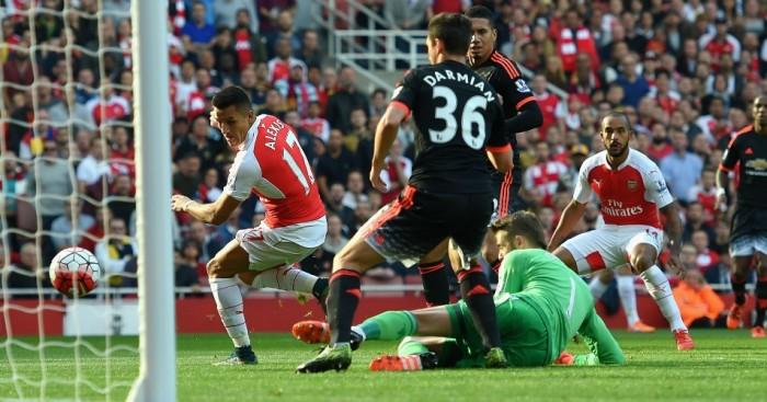 Alexis Sanchez Arsenal TEAMtalk