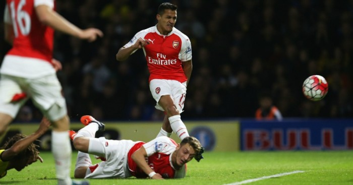 Alexis Sanchez: Opened the scoring at Watford