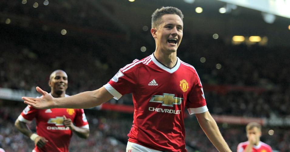 Ander Herrera: Manchester United midfielder a fan of Paul Scholes