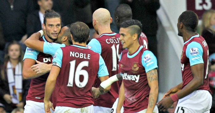 West Ham: Celebrate Andy Carroll's winner against Chelsea