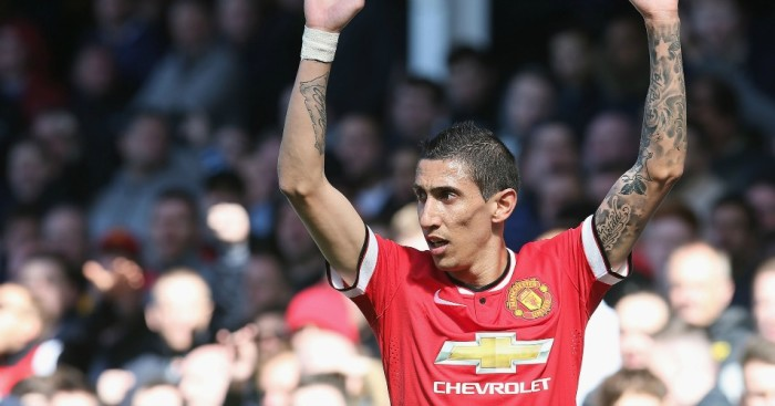 Angel Di Maria: Did not have a great season at Manchester United