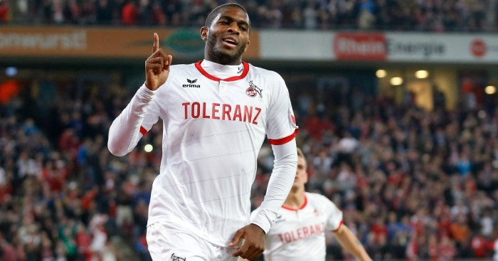 Anthony Modeste: Arsenal linked with Cologne striker