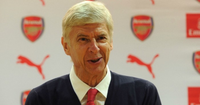 Arsene Wenger: Addressed the media on Friday