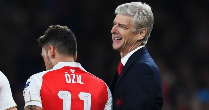 Mesut Ozil: Praised by Arsene Wenger