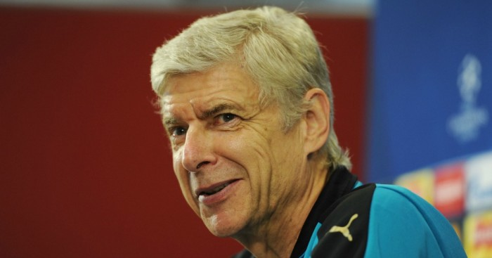 Arsene Wenger: In confident mood