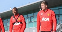Ashley Young and James Wilson: Both injured for United