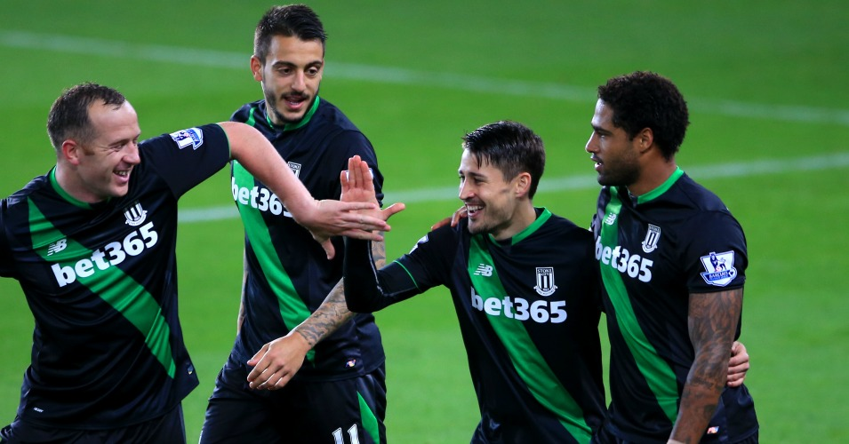 Bojan Stoke City celebration