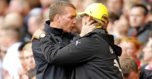 Brendan Rodgers Jurgen Klopp TEAMtalk