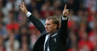 Brendan Rodgers: Avoided the Liverpool axe in the summer